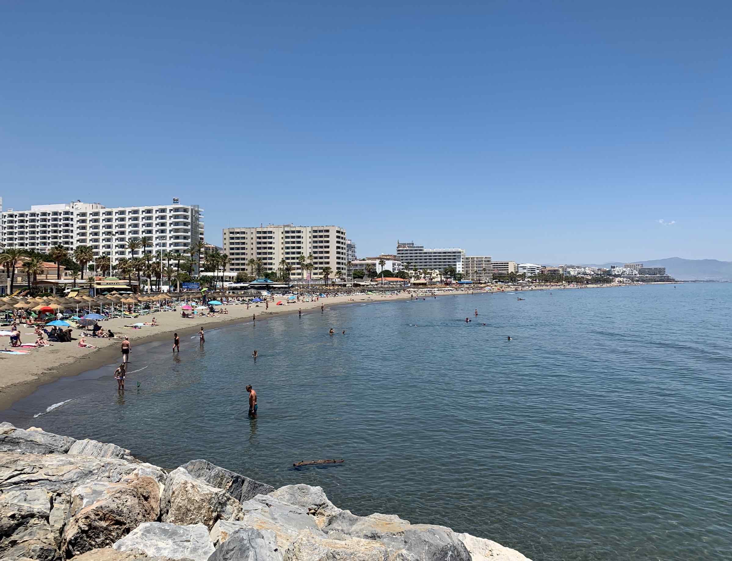 carihuela strand