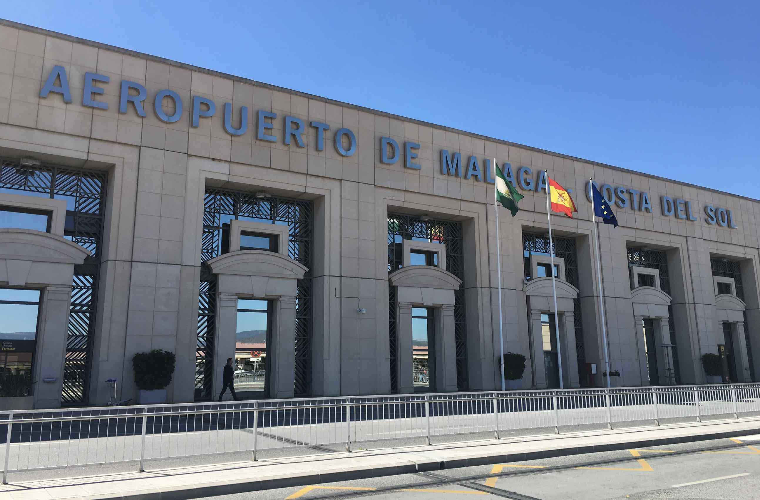 Málaga airport terminal