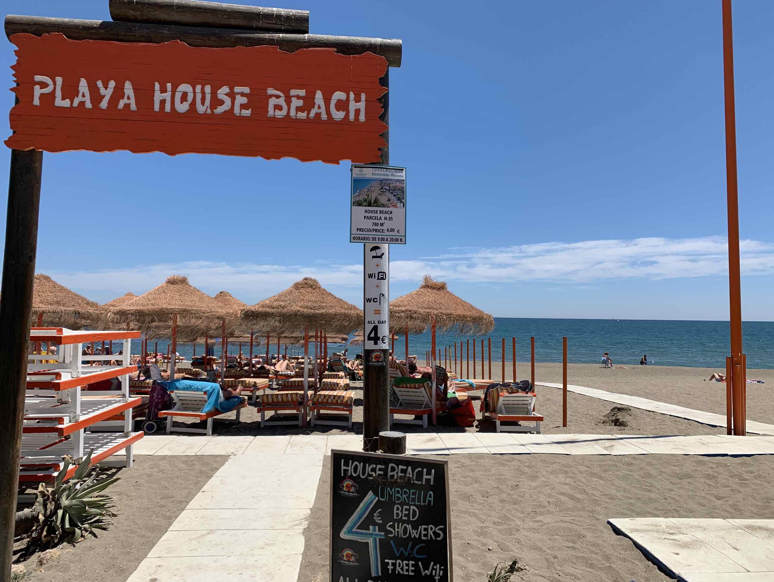 playa house beach torremolinos