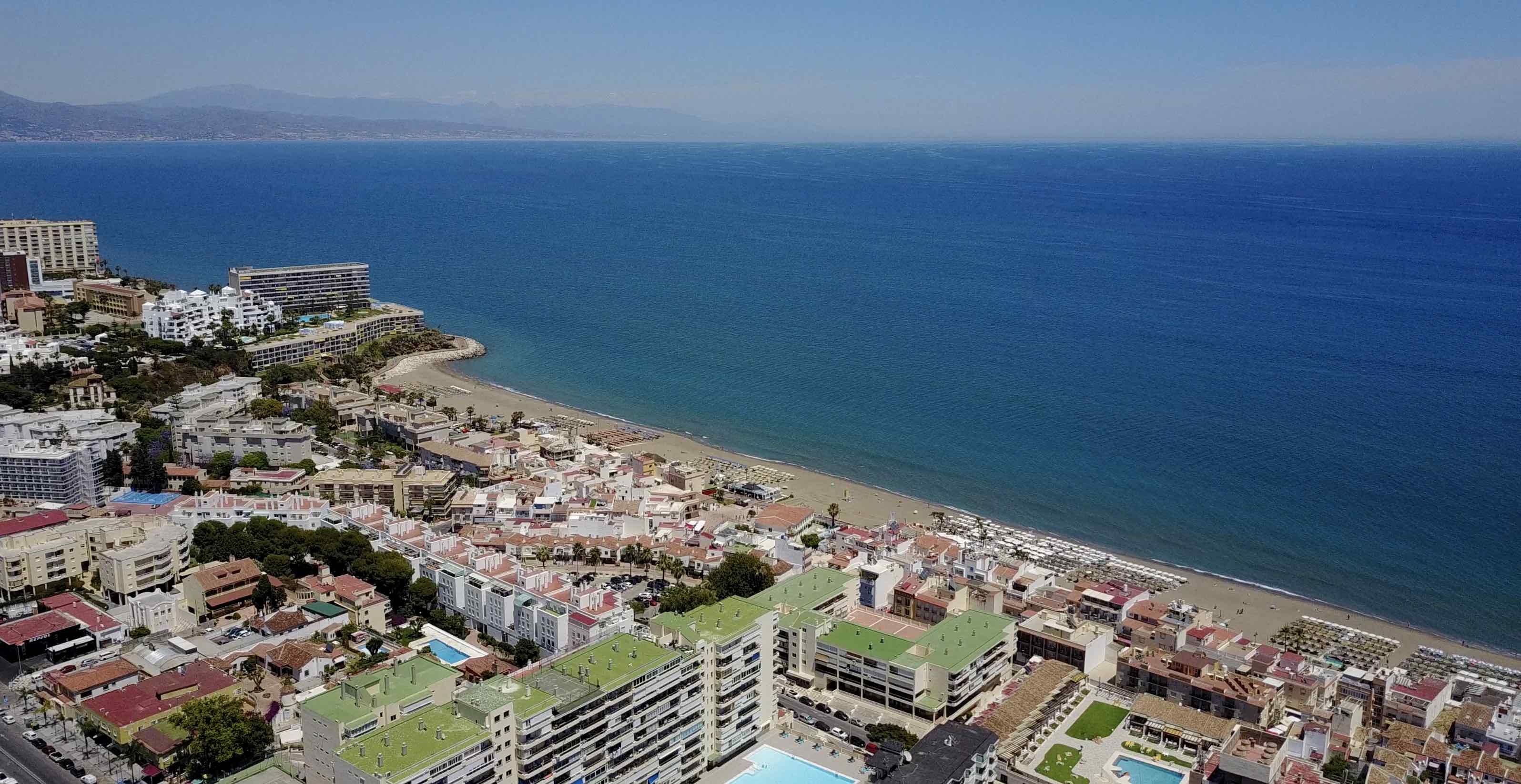 torremolinos strand carihuela